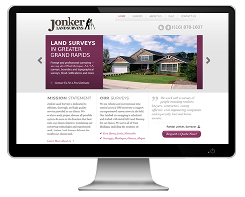 grand rapids website design