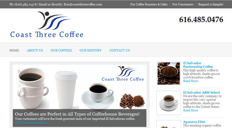 coffee website